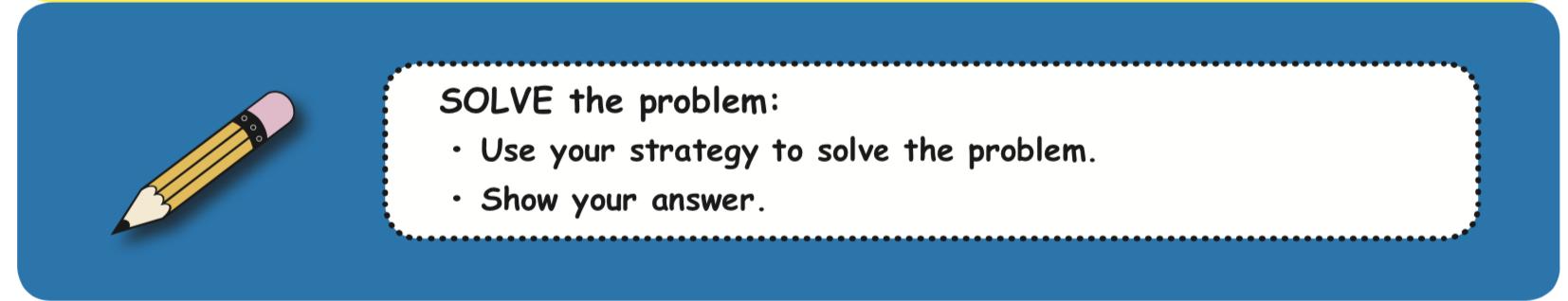 solve the problem