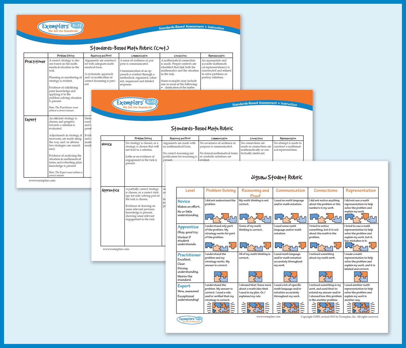 Digital Classroom Resources Exemplars Pearson chapter 12 assessment rubrics for learning 119. digital classroom resources exemplars